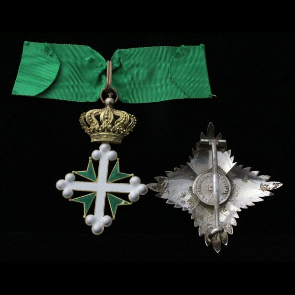 Order of Lazarus Grand Officer sash badge and breast star 2