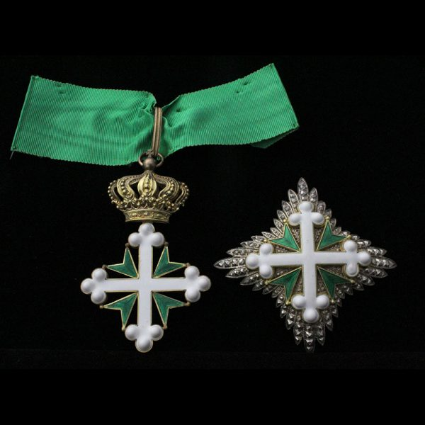 Order of Lazarus Grand Officer sash badge and breast star 1