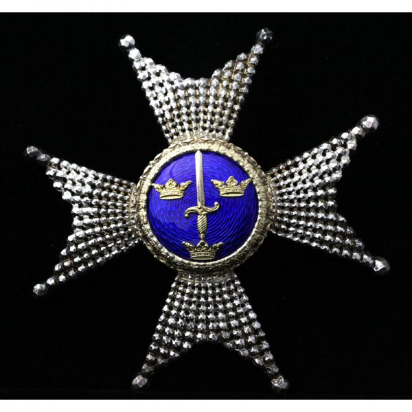 Order of the Sword Grand Officer breast star 1