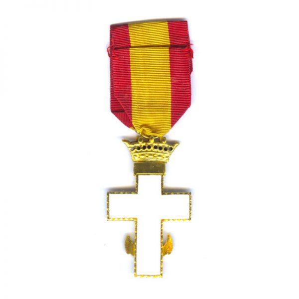 Order of  Naval  Merit Knight  Franco  White enamel (L27523)  N.E.F. £65 2