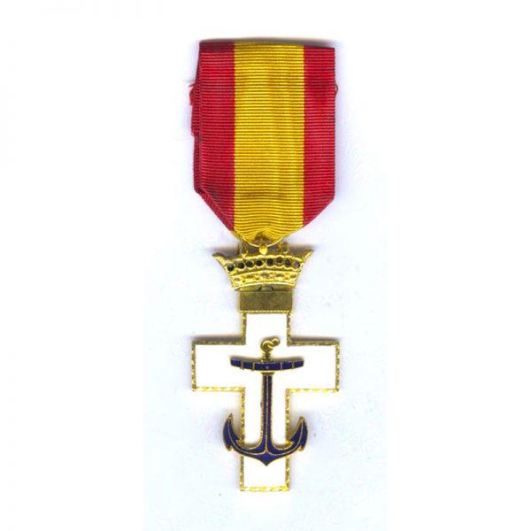 Order of  Naval  Merit Knight  Franco  White enamel (L27523)  N.E.F. £65 1
