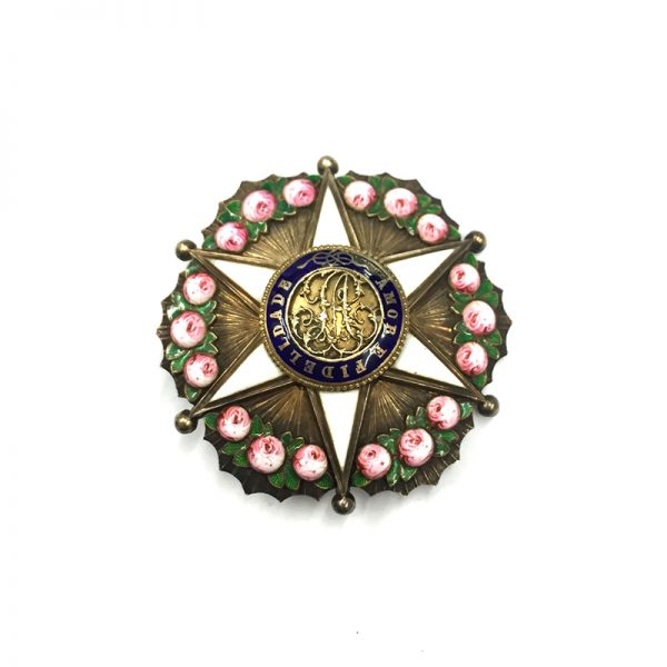 Order of the Rose Officer Breast Star  55mm 1