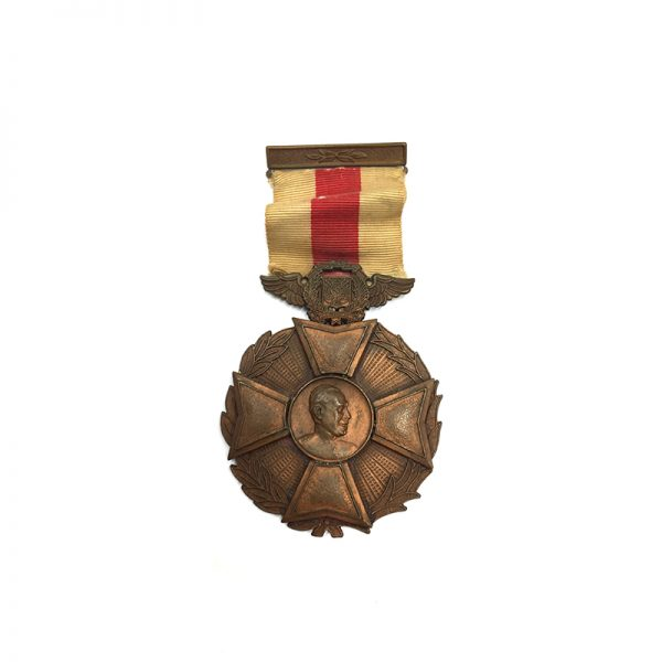 Medal of Valor and Loyalty from Trujillo 3rd August 1952 1