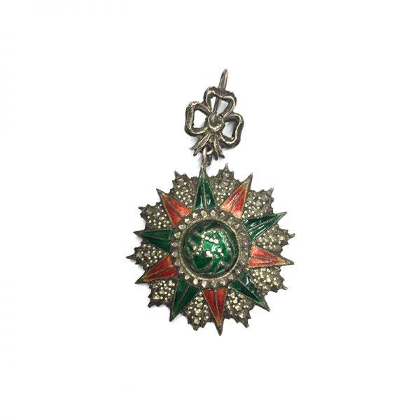 Order of Nichan Iftikhar Commander El Sadok 1859-1882 1