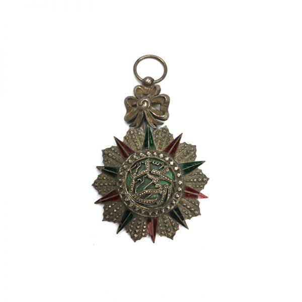 Order of Nichan Iftikhar Officer Hadi  Bey 1902-1906 1