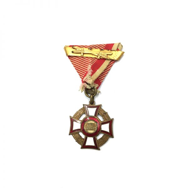 Military Merit Cross  3rd Class with war decoration 1