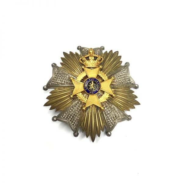 Order of Leopold II Grand Officer    breast star excellent heavy quality by... 1