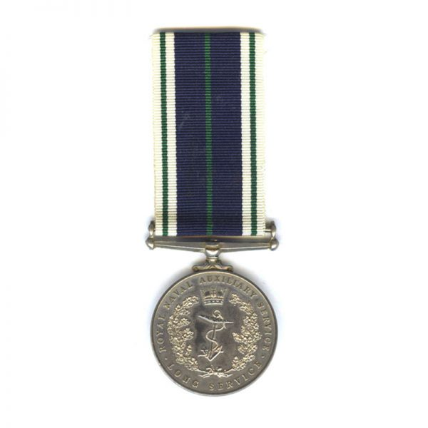 Royal Naval Auxiliary Long Service Medal 1