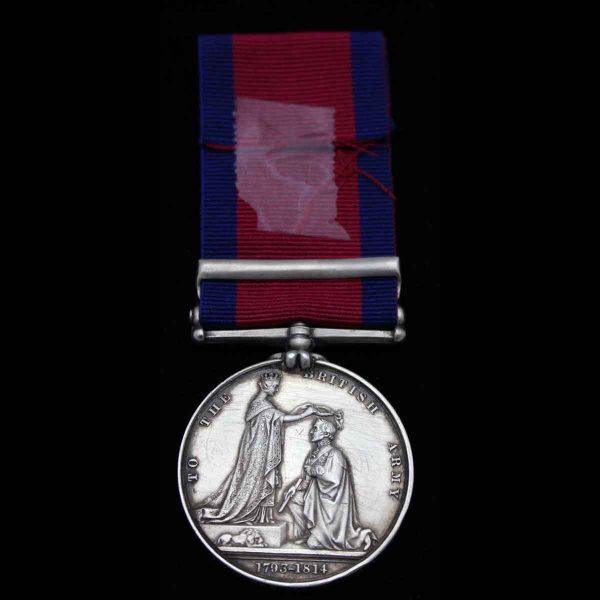 M.G.S. 2 bars, 1st Royal Dragoons 2