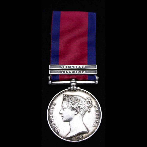 M.G.S. 2 bars, 1st Royal Dragoons 1