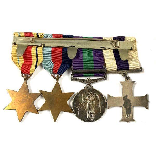 Military Cross 1939 Palestine Captain HLI 3