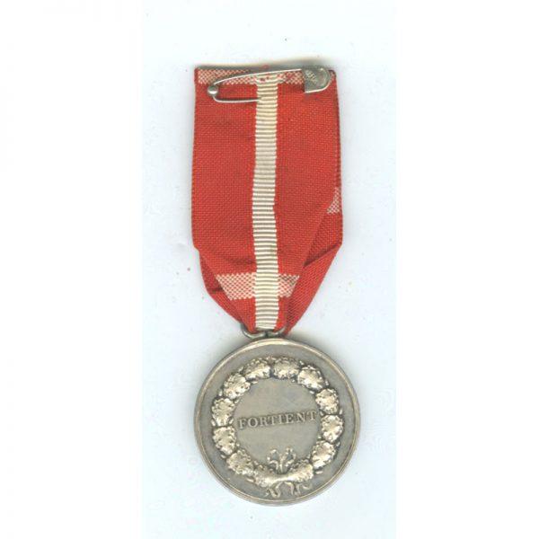 Medal of Merit  Christian X  to Dagmar Sorenson fodt  Fischer (L14413)  N.E.F... 2