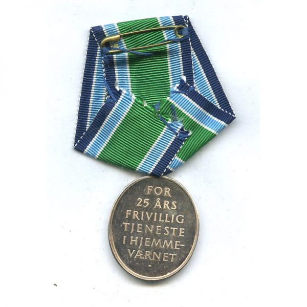 Home Guard Long Service medals 25 years medal 2
