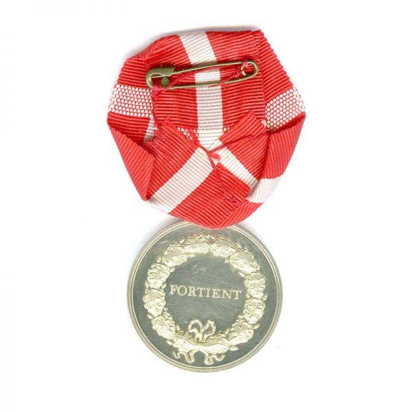 Medal of Merit  Margarethe to Henry Christopherson 2