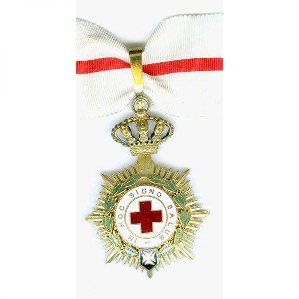 Red Cross Order medal 1st class (1926-1931)  neck badge contemporary issue in... 1