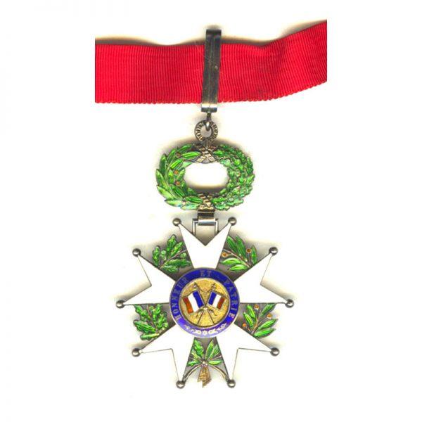 Legion D'Honneur 1951-62 IVth Republic  Commander  silver gilt superb quality and... 2