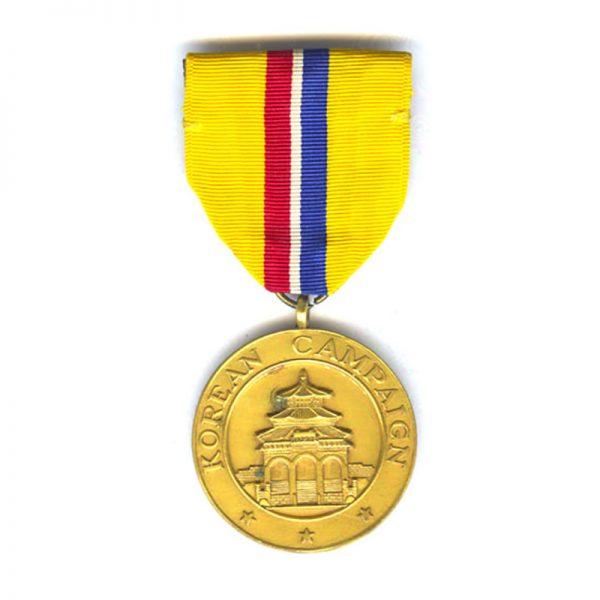 Korean Campaign Medal scarce by El Oro 1
