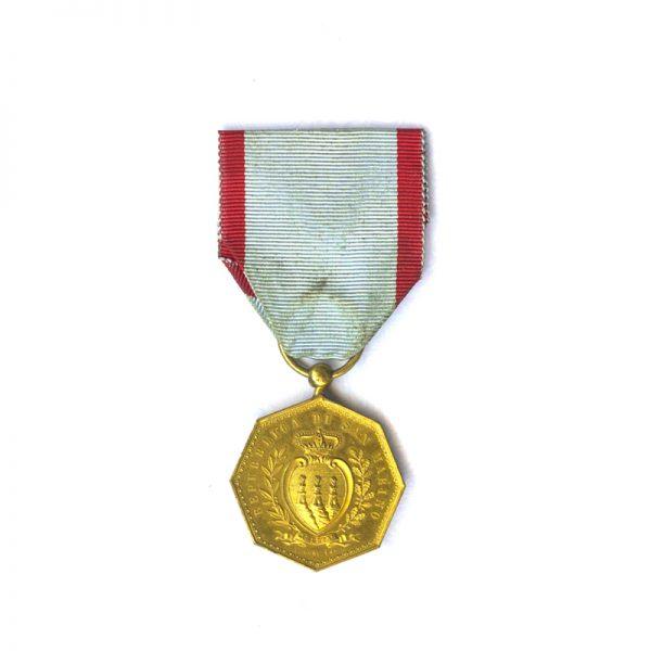 Golden Merit Medal of the Republic 1