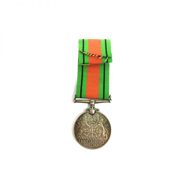 1939-45 Defence medal silver 2