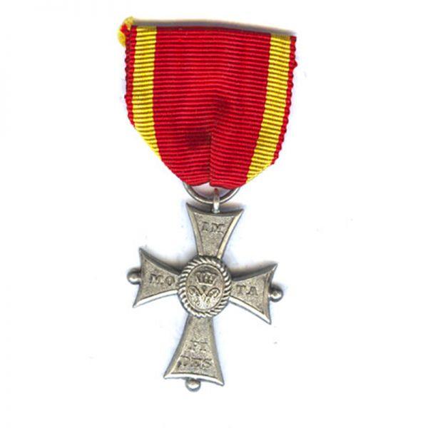 Order of Henry the Lion silver merit cross 1