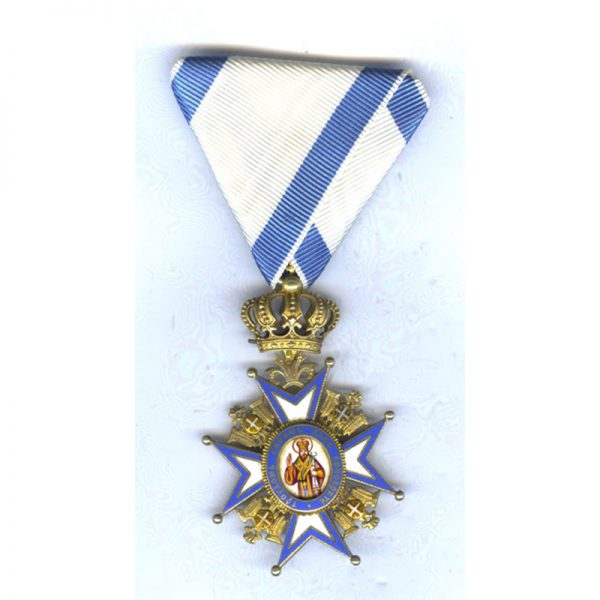 Order of St. Sava 5th class Officer 1