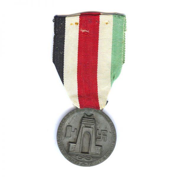 Italy-German Africa Medal 1941 bronzed zinc  by Lorioli 2