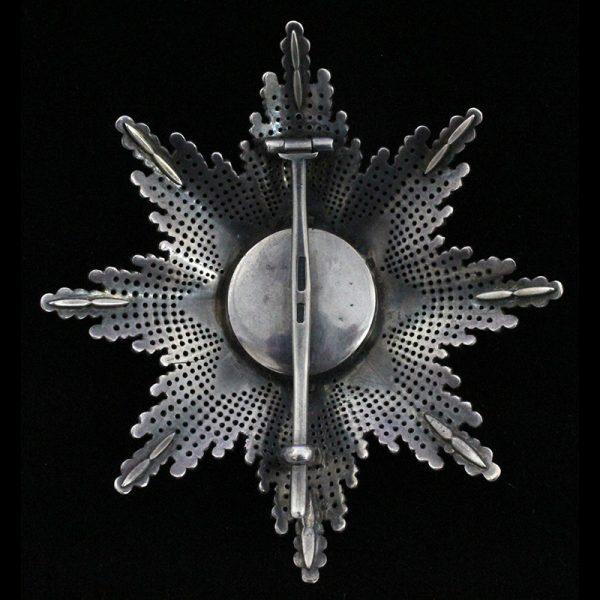 Order of Franz Joseph Grand Cross breast star 2