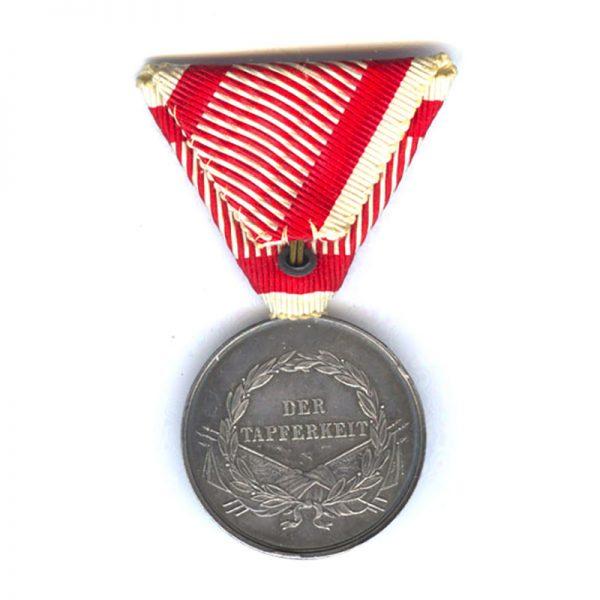 Medal for Bravery Franz Joseph I 1859-1866 2