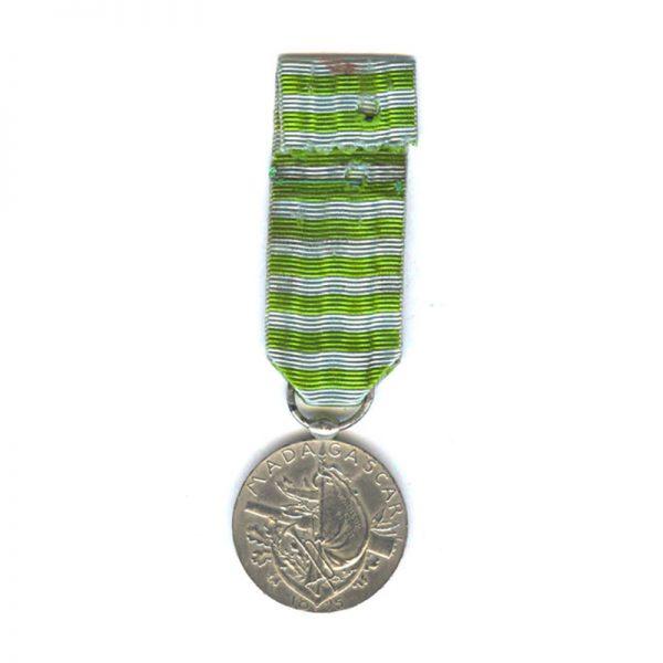 Madagascar medal 1895 no bar 2