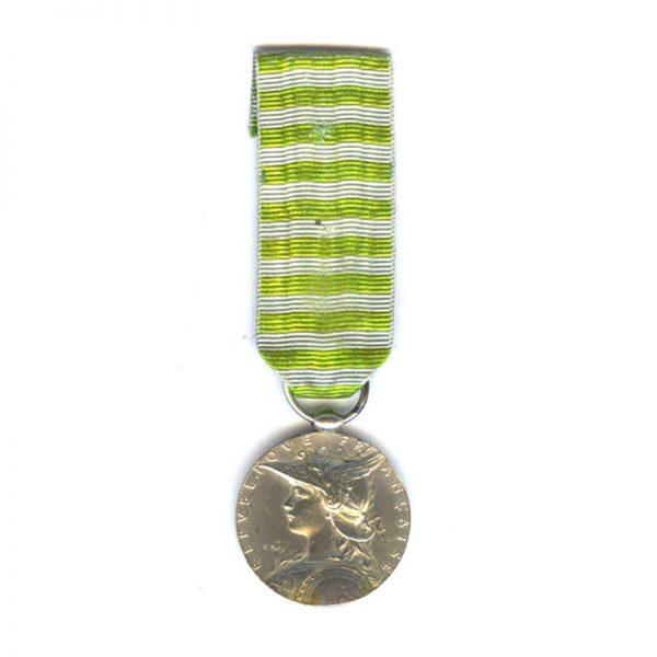 Madagascar medal 1895 no bar 1