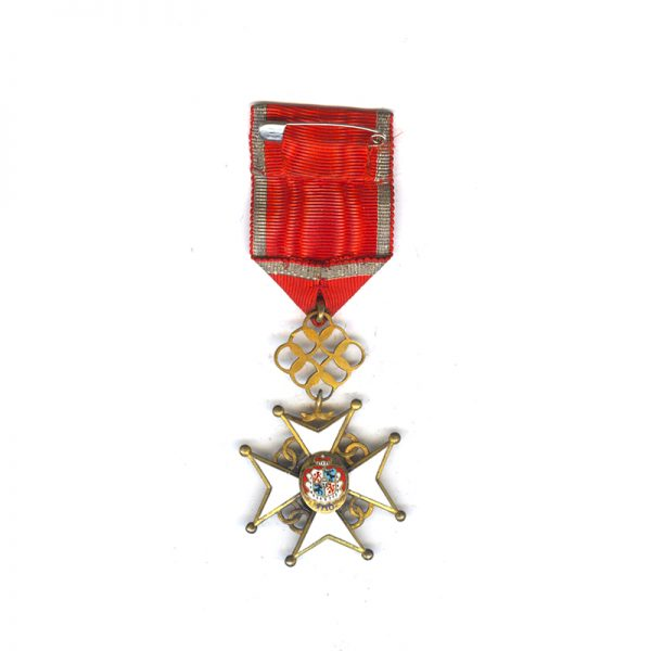 Order of the Cross of Recognition Officer  silver gilt rare(L27912)  N.E.F... 2