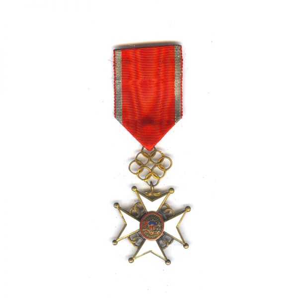Order of the Cross of Recognition Officer  silver gilt rare(L27912)  N.E.F... 1