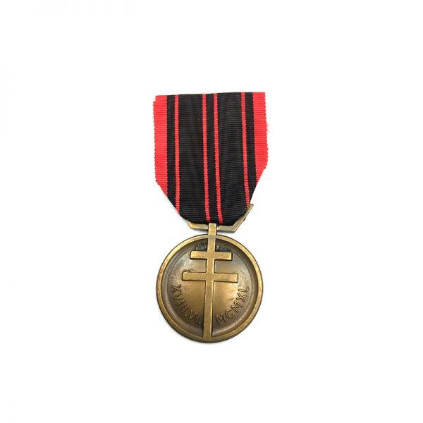 Resistance medal 1939-1945 1