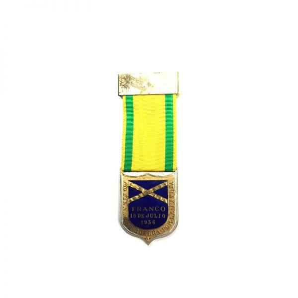 Civil War Wound Badge Franco 1