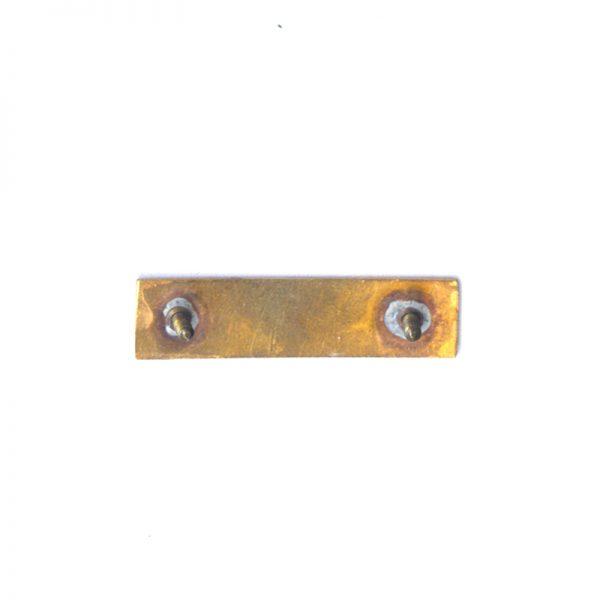 Korean Campaign Bronze Valor Star Ribbon bar enamelled 2