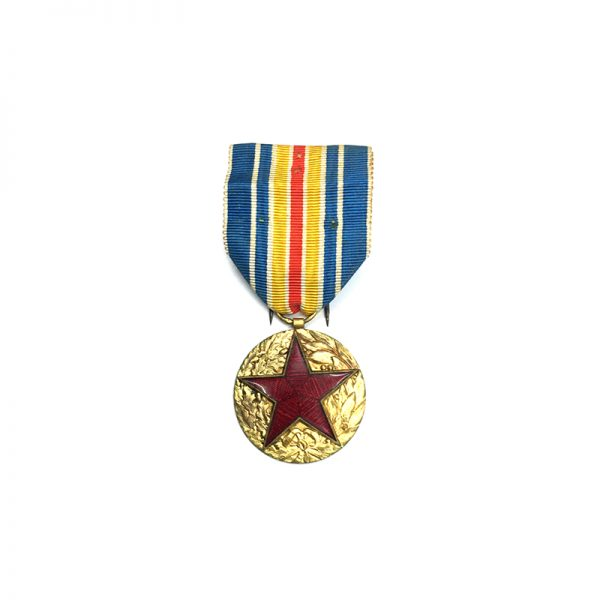 Military  Wound medal white enamelled star in wreath 1