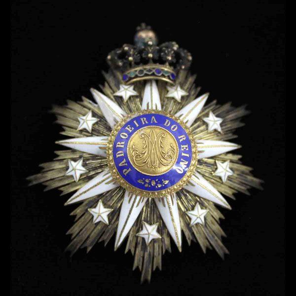 Order of  Villa Vicosa Grand Cross breast star 1