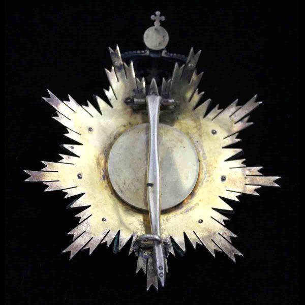 Order of  Villa Vicosa Grand Cross breast star excellent fine quality star... 2