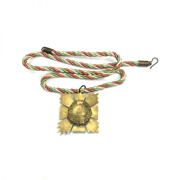 Cross for the Defenders of the Republic Neck badge 1836 2
