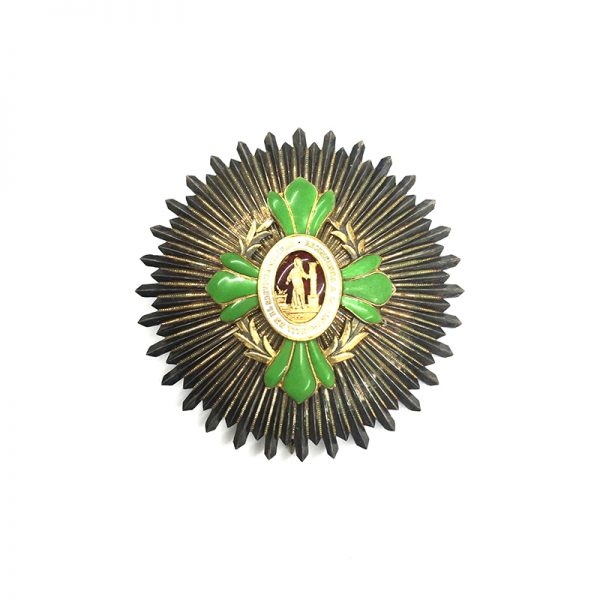 Mexico  Military Long Service Constancia Breast star 1