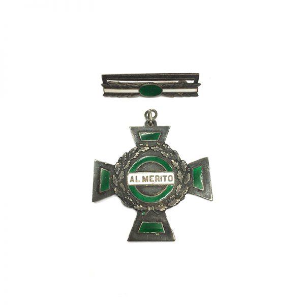 Al Merito Silver Cross 1937-1962 1