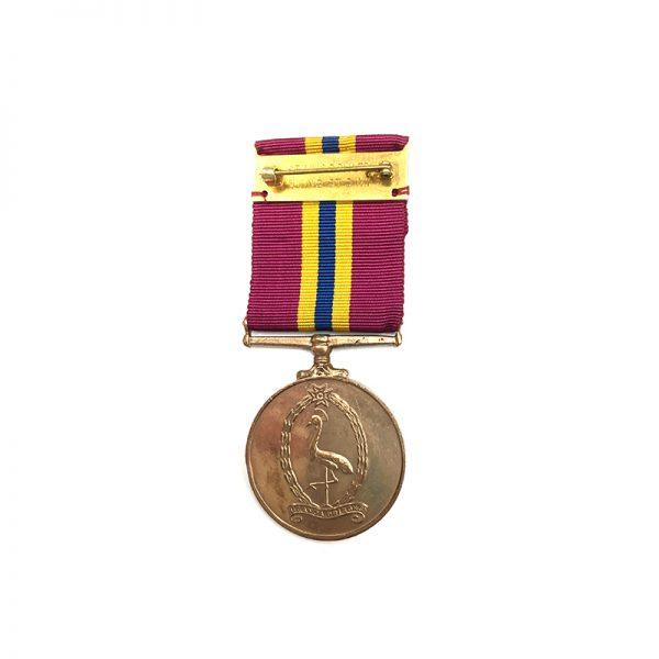 Idi Amin Era   Uganda Prisons Long Service Medal bronze 2