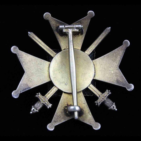 House Order Officer Merit Cross 1914-1918 with Swords 2