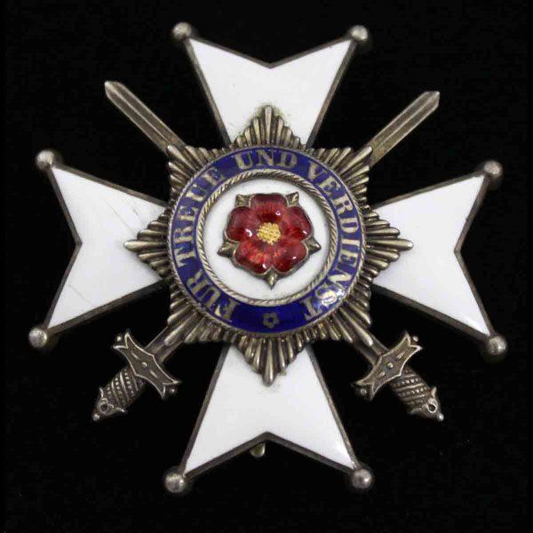 House Order Officer Merit Cross 1914-1918 with Swords 1