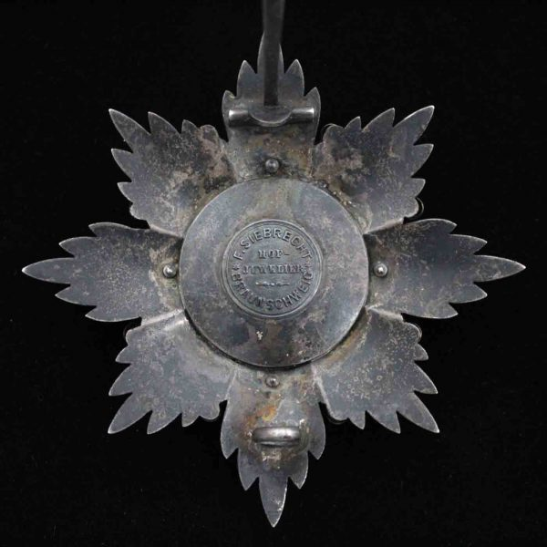 House Order of Henry the Lion Grand Cross Breast Star 2