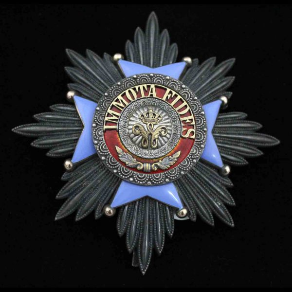 House Order of Henry the Lion Grand Cross Breast Star 1