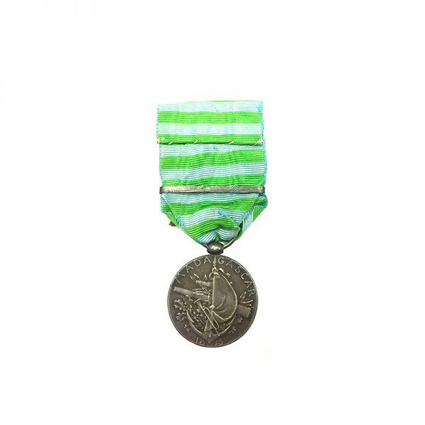Madagascar medal 1895 with bar 1895 2
