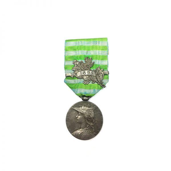 Madagascar medal 1895 with bar 1895 1