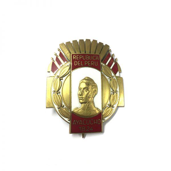 Order of Ayacucho Grand Cross breast star 1