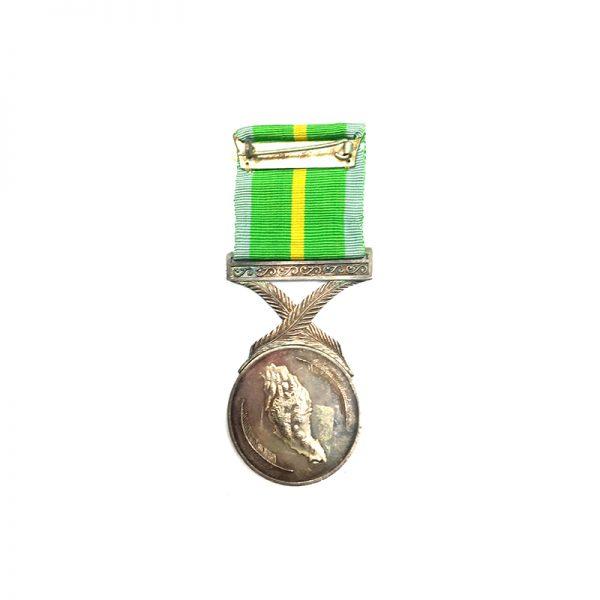 Active Service Medal  silver Korean War 2